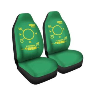 Geiger Counter Power Reading Meter Dope DBZ Car Seat Cover