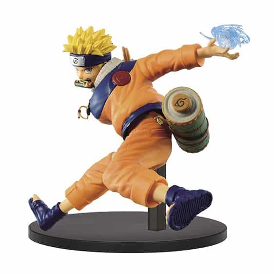 Genin Ninja Uzumaki Naruto Battle Stance Action Figure