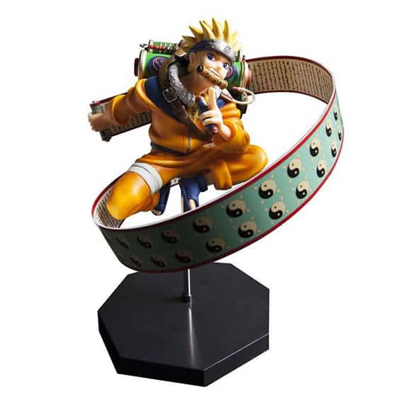 Genin Ninja Uzumaki Naruto Carrying Scrolls Toy Figure