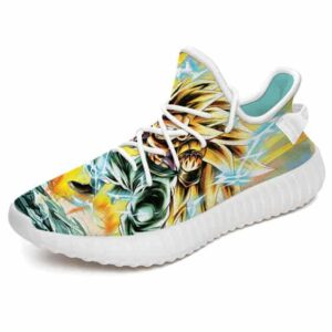 Gotenks Super Saiyan 3 Power Surge DBZ Yeezy Shoes