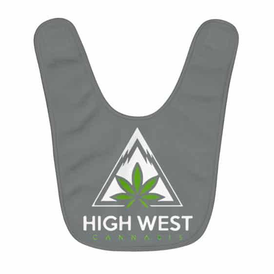 High West Cannabis Awesome Logo Black Baby Apron