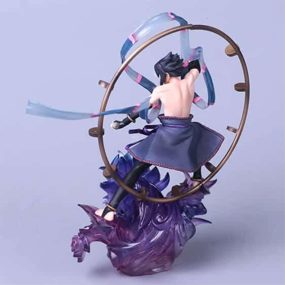 Impressive Uchiha Sasuke Perfect Susanoo Action Figure
