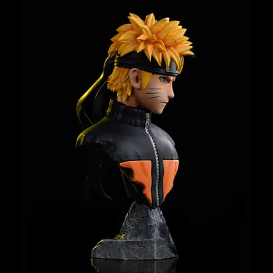 Leaf Ninja Uzumaki Naruto Awesome Head Bust Action Figure
