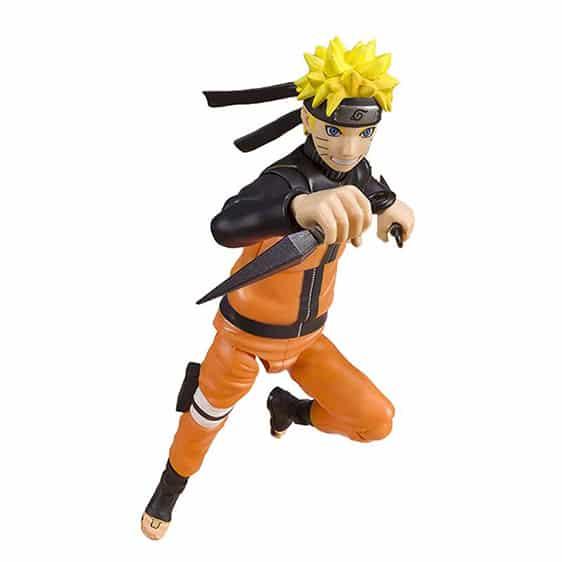 Leaf Village Ninja Uzumaki Naruto Movable Action Figure