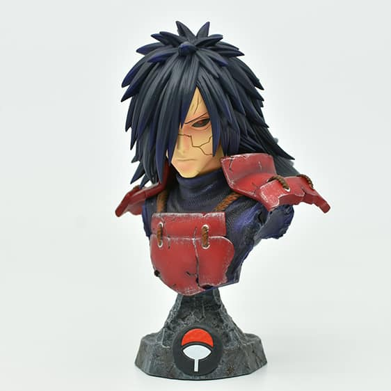 Legendary Madara Uchiha Head Bust Epic Naruto Static Figure