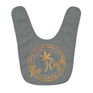 Marvelous The High Company Kush Logo Gray Baby Apron