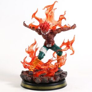 Might Guy Final Gate Of Death Red Aura Epic Toy Figurine