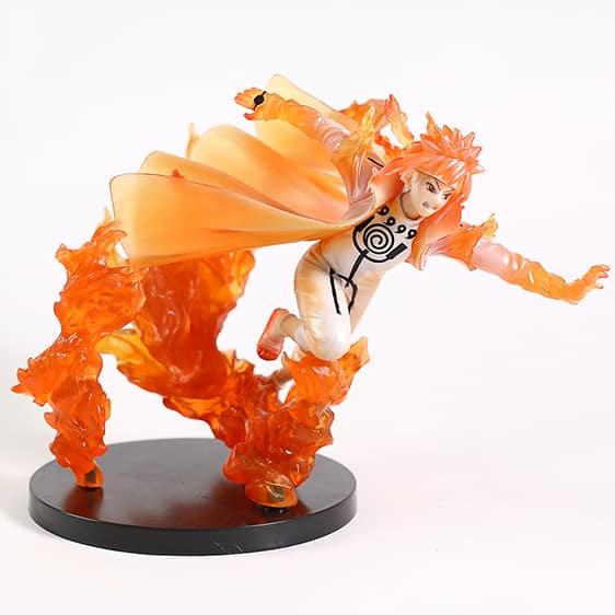 Minato Namikaze Nine Tail Chakra Mode Cool Static Figure