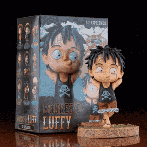 Mischievous Kid Luffy Chibi One Piece Static Figurine