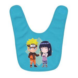 Naruto Uzumaki And Hinata Hyuga Cute Chibi Couples Baby Bib