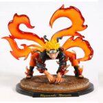 Naruto Uzumaki Fox Chakra Cloak Badass Action Figure