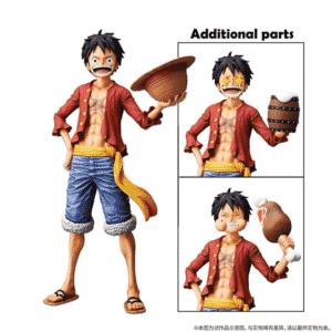 New World Monkey D. Luffy One Piece Amazing Toy Figure