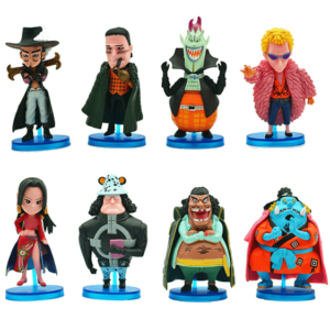 One Piece Former Warlords Of The Sea Awesome Chibi Figures