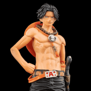 One Piece Fire Fist Ace Awesome Pose Cool Toy Figure
