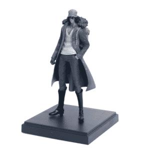 One Piece Ichiban Marine Admiral Kuzan Cool Statue Figure