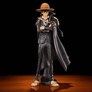 One Piece Luffy King Of Pirates Black Clothes Static Figure