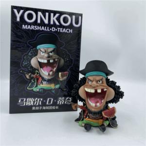 One Piece Marshall D. Teach Blackbeard Chibi Toy Figurine