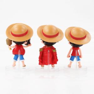 One Piece Monkey D. Luffy Chibi Set Toy Figurine