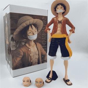 One Piece Monkey D. Luffy Time Skip Cool Action Figure