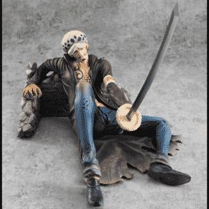 One Piece Trafalgar Law Cornered Awesome Pose Toy Figure