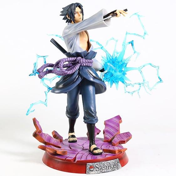 Powerful Rogue Ninja Uchiha Sasuke Chidori Toy Figurine
