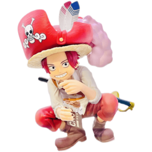 Red Hair Shanks Childhood Eating Chocolates Statue Figure