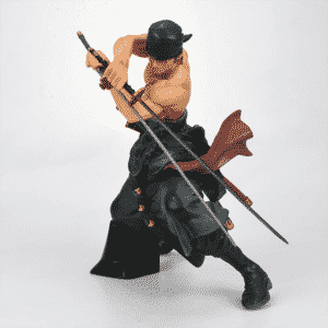 Roronoa Zoro One Piece Nitoryu Stance Cool Toy Figurine
