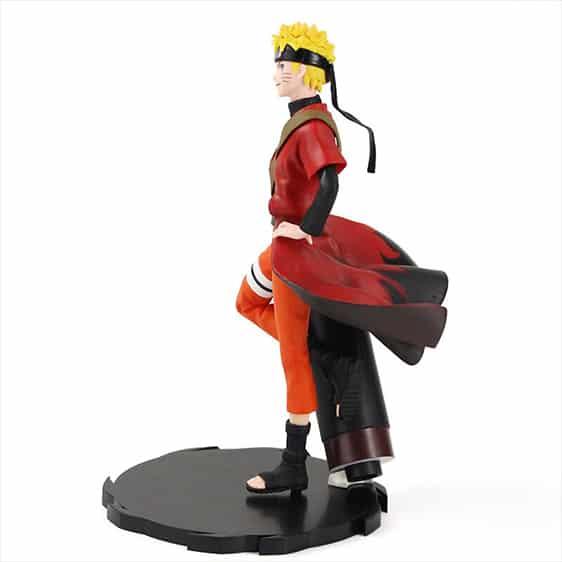 Sage Mode Uzumaki Naruto Holding Scroll Static Figure