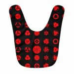 Sharingan Eyes All Forms Pattern Awesome Baby Apron