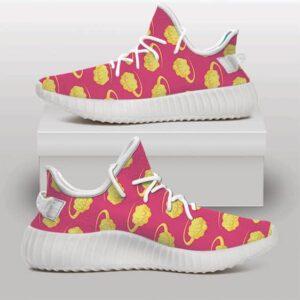 Son Goku's Flying Nimbus Pattern Unique Yeezy Shoes