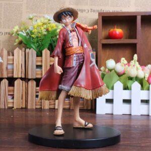 Straw Hat Monkey D. Luffy King Of Pirates Toy Figurine