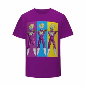 DBZ Cooler's Top Henchmen Salza Iconic Pose T-shirt