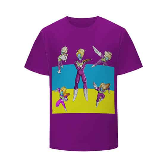 DBZ Captain Of Cooler's Armored Squadron Salza T-shirt