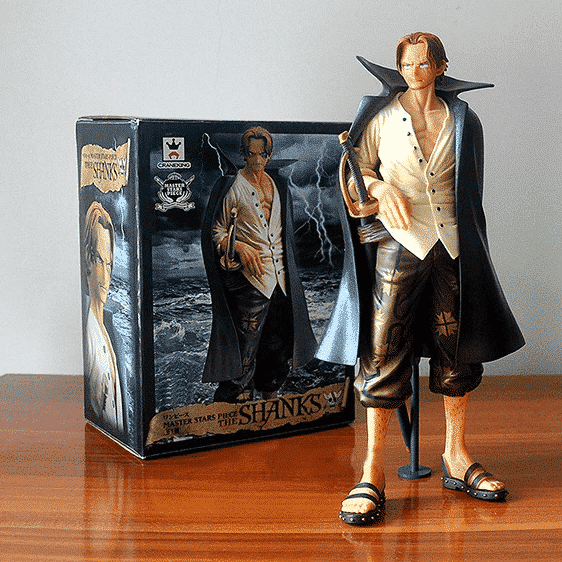 The Powerful Yonko Portgas D. Shanks Awesome Statue Figure