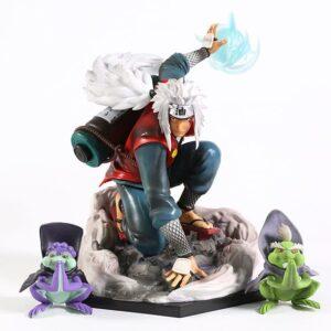 Toad Sage Master Jiraiya Battle Stance Cool Action Figure