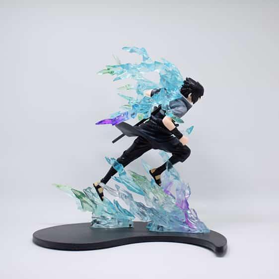 Uchiha Sasuke Powerful Chidori Attack Badass Action Figure