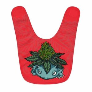 Unique Bulbasaur Weed Pokemon Parody Cool Baby Apron