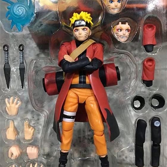Uzumaki Naruto Sage Mode Unique Movable Action Figure