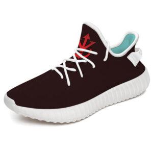 Vegeta's Saiyan Royal Family Crest Symbol Yeezy Shoes