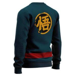 Dragon Ball Heroes Goku God Officer Uniform Wool Sweater