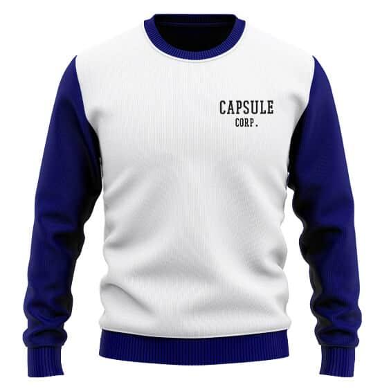 Capsule Corp Teen Future Trunks Cosplay Wool Sweatshirt