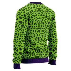 Perfect Cell DBZ Costume Cosplay Dope Wool Sweatshirt