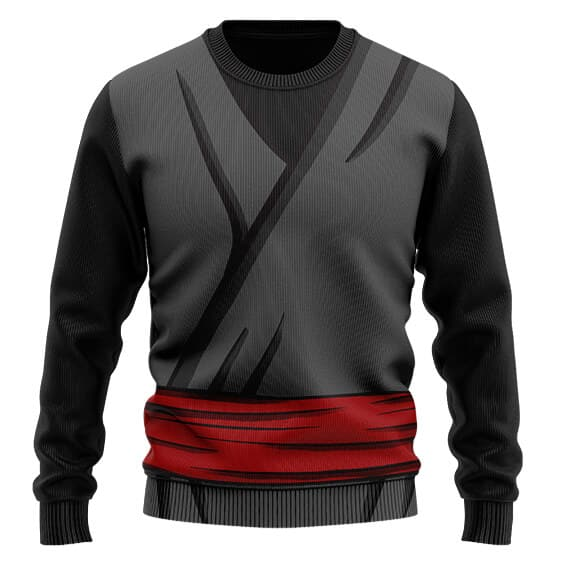 Dragon Ball Z Goku Black Cosplay Costume Wool Sweater