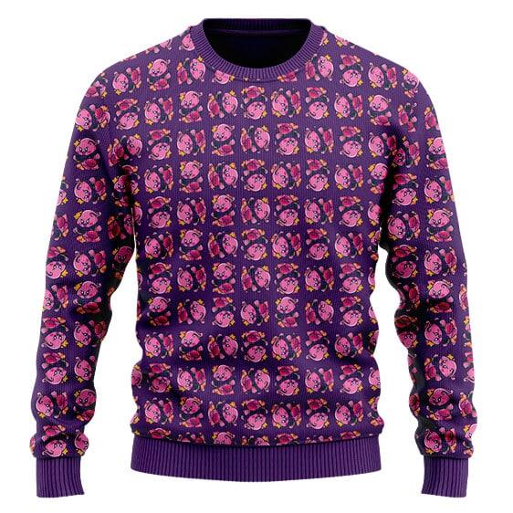 Dragon Ball Z Majin Buu Kirby Cute Parody Wool Sweater