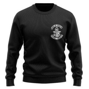 DBZ Vegeta Sons Of Saiyan Parody Amazing Wool Sweater