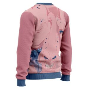 Dragon Ball Z Majin Buu Various Forms Wool Sweater
