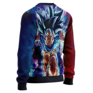 Dragon Ball Z Son Goku Ultra Instinct Form Wool Sweater