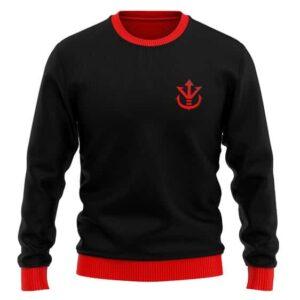 DBZ Saiyan Royal Family Crest Awesome Wool Sweatshirt
