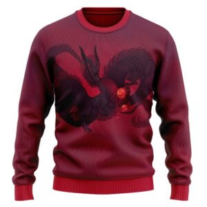 Legendary Eternal Dragon Shenron DBZ Wool Sweatshirt