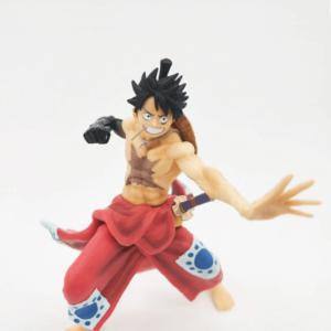 Wano Arc Kimono Monkey D. Luffy Haki Fist Static Figure